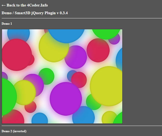 Collective - Smart3D image illusion jQuery plugin
